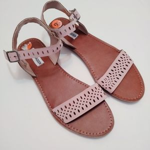 Steve Madden Reyla Blush Pink Sandals 9.5